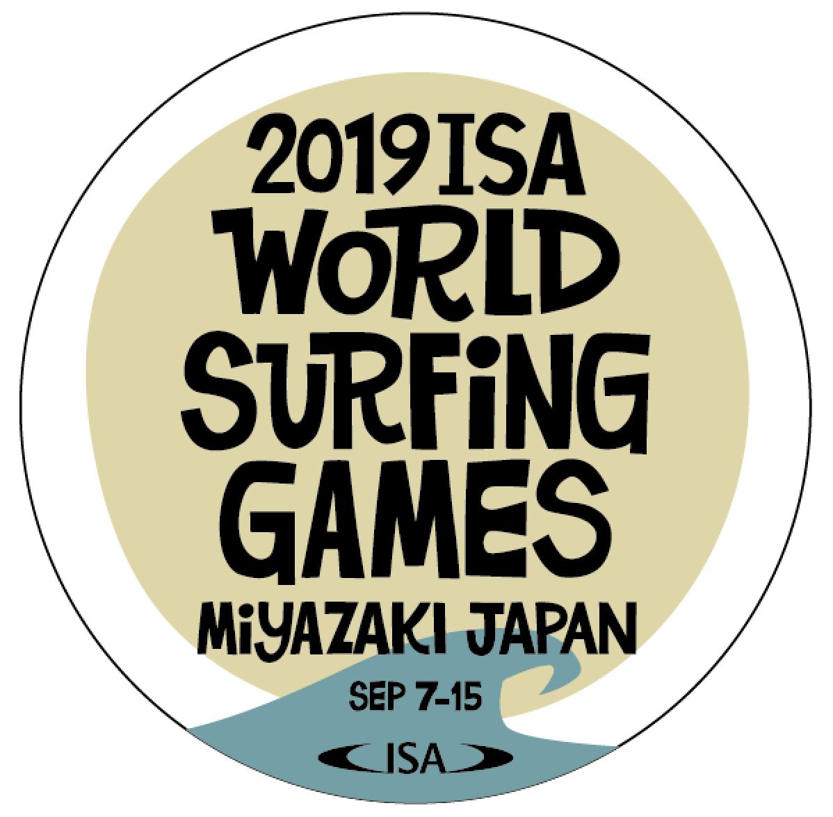 2019 ISAワールドサーフィンゲームス」