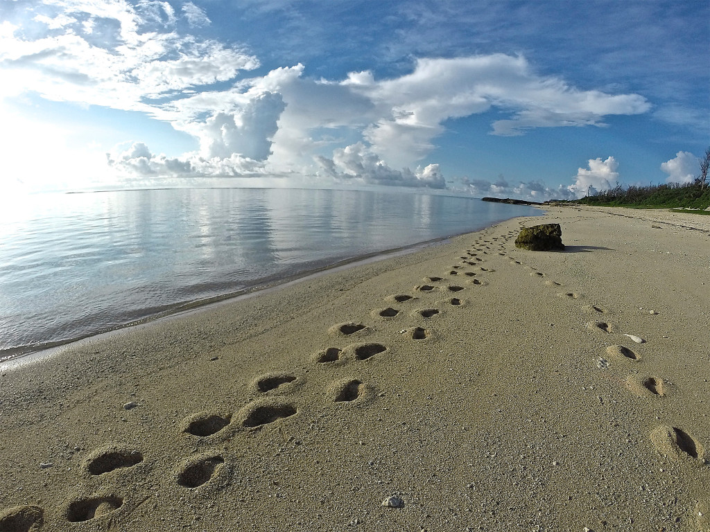 islandcolor6伊計島砂浜