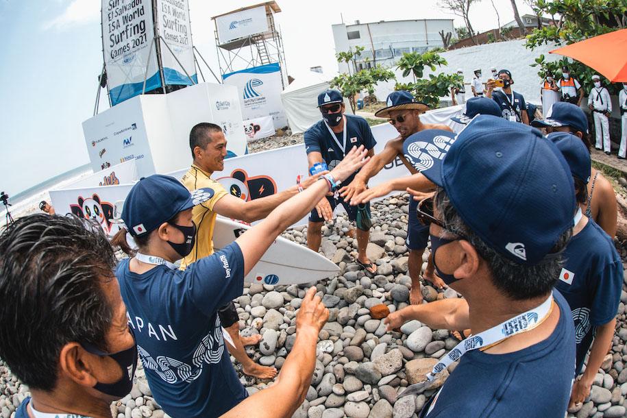 サーフシティ・エルサルバドル ISAワールドサーフィンゲームス2021