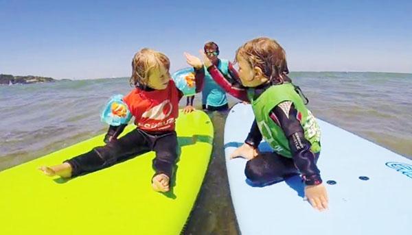 子供 サーフィン