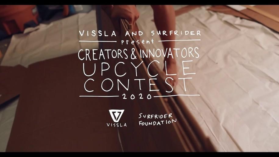 VISSLAとサーフライダーファウンデーションが開催する『CREATORS & INNOVATORS UPCYCLE CONTEST 2020』エントリースタート!