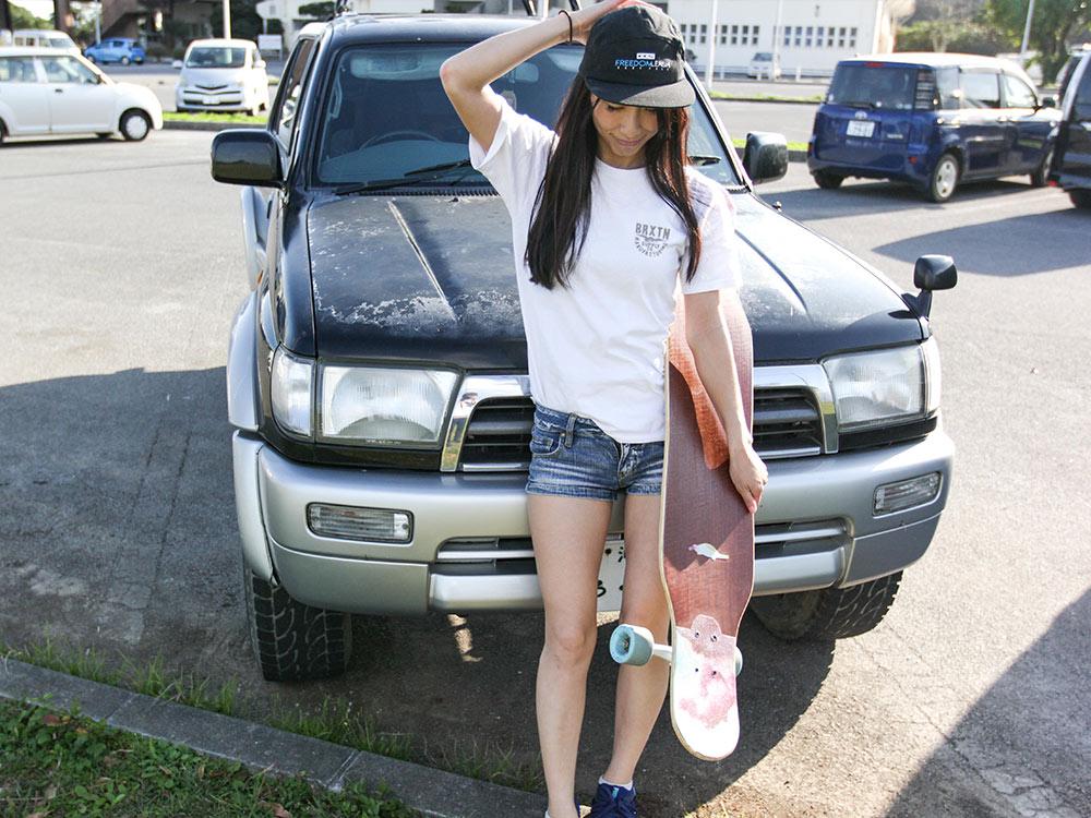 『スケボー初心者にもオススメ』女性から見るロングスケートボードの魅力