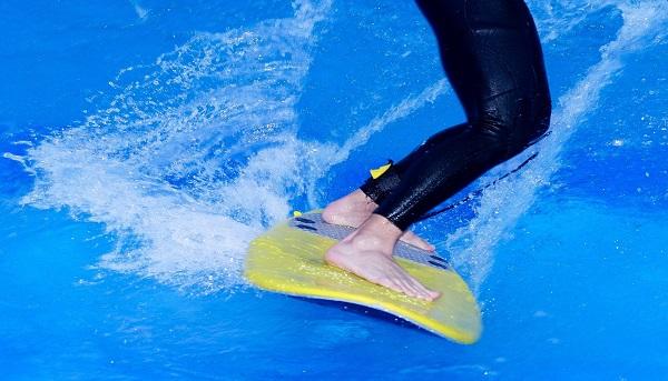 サーフィン 足裏 バランス感覚の向上